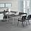 Thumbnail: Suite 201 - U shape desk with 1 B.F.F. file & sliding glass door hutch.
