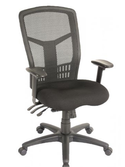 704S Cool Mesh Multi-Function High Back Chair