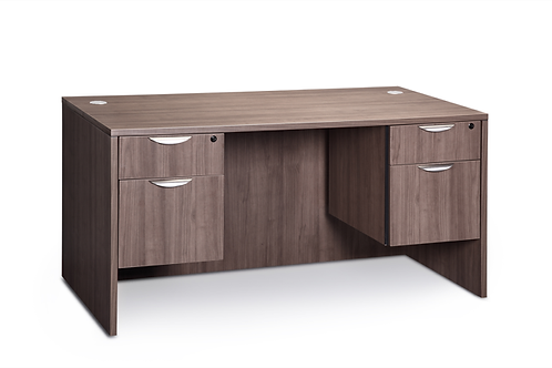 A19 Desk with 2 B.F. files