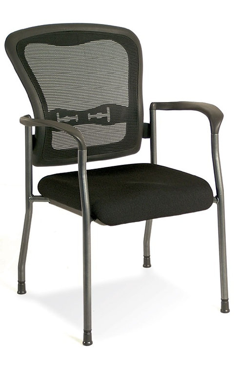 L.O.F. Mesh back stacking chair