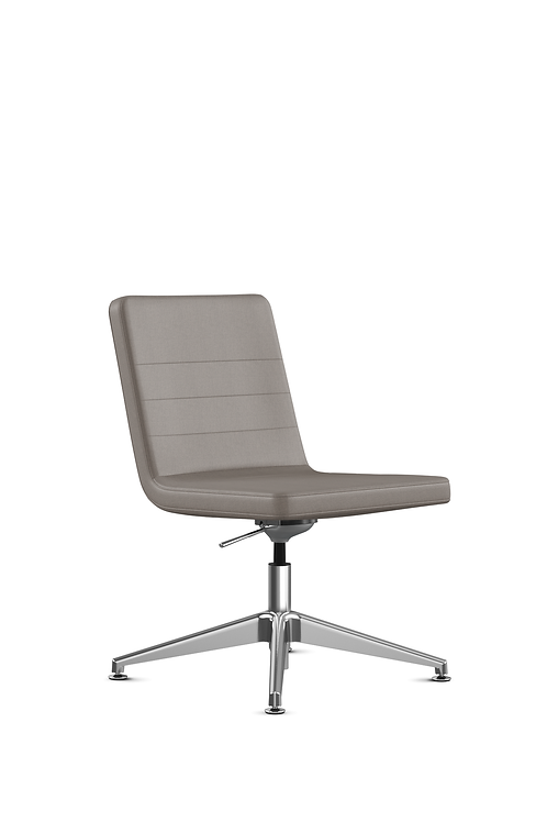 9to5 Diddy Chair without arms-Champagne