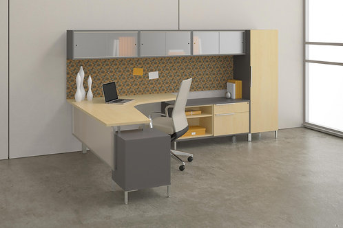 Desk Makers TeamWorX Layout 223