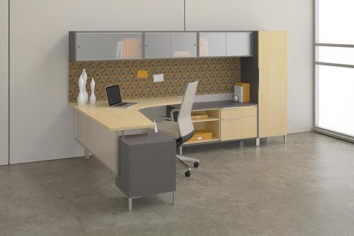 Desk Makers TeamWorX Layout 223