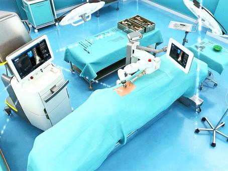 Передовий ортопедичний робот прибув в Хадасса минулого тижня і вже рятує життя!