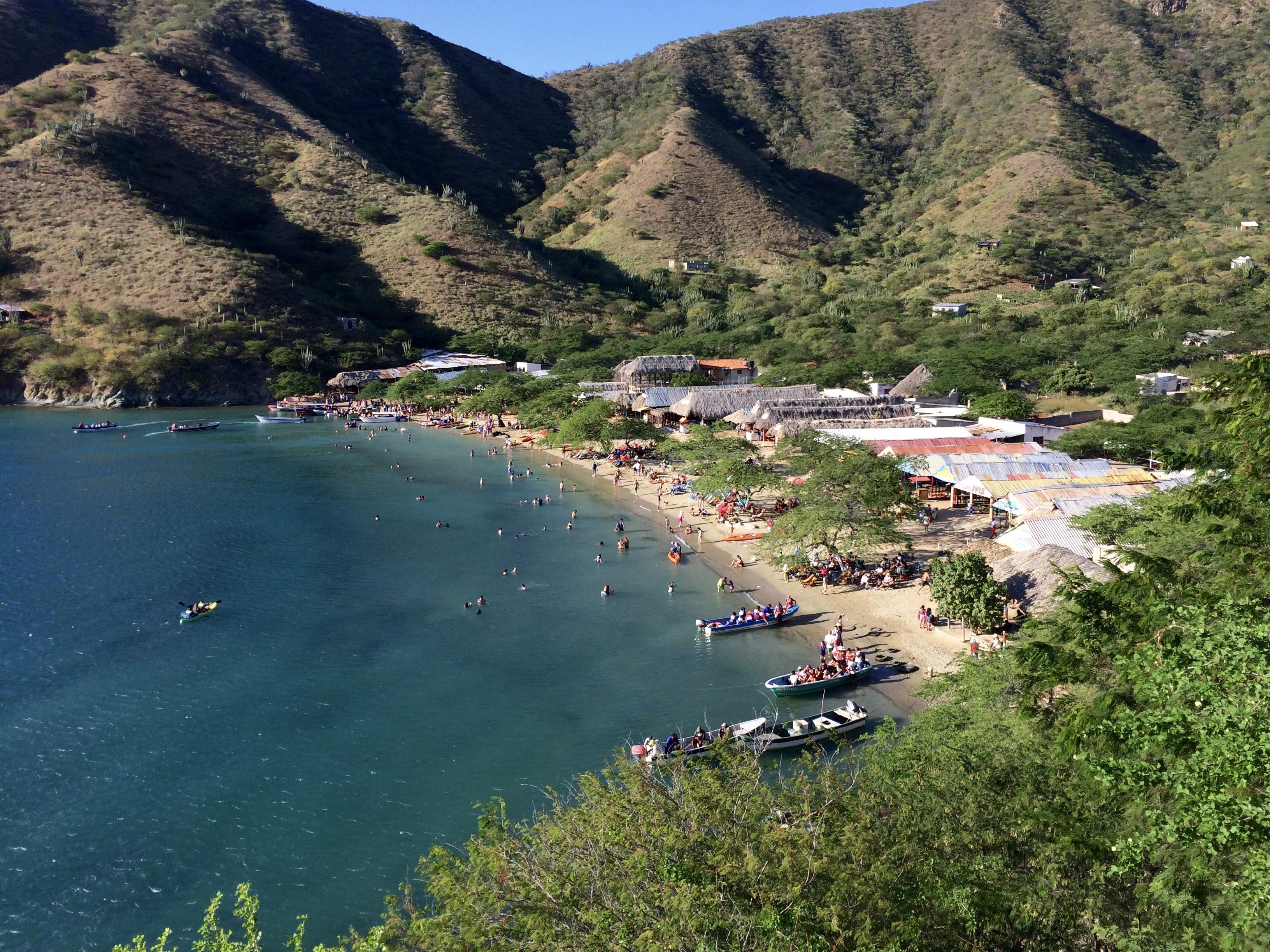 Playa blanca, Santa Marta
