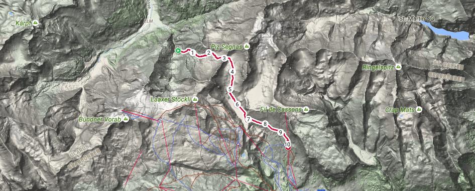 Segnaspass route