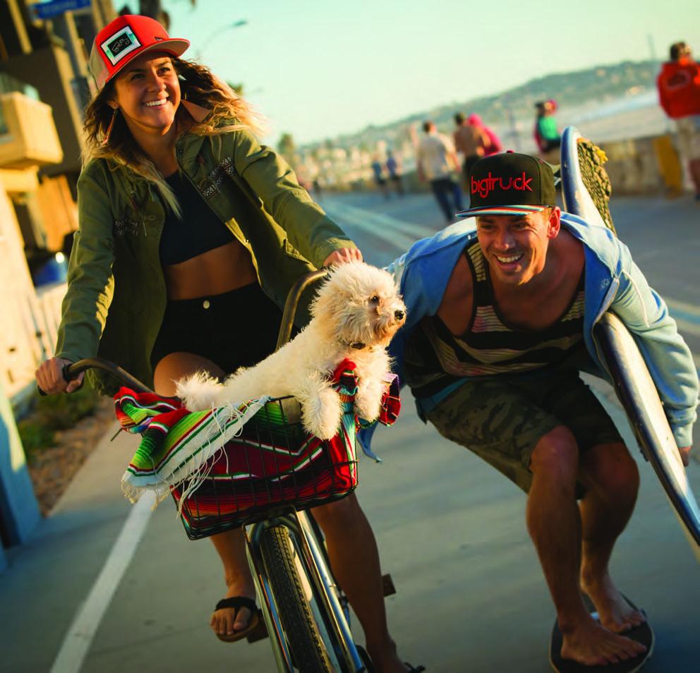 skate och cykel tjej