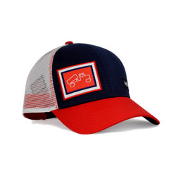 Classic Red Navy White