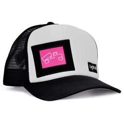 OG White Black Pink Label