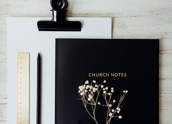 Notizbuch 'Church Notes' A4 Softcover
