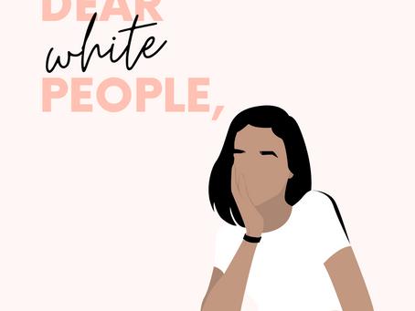 Dear White People: Ein offener Brief an die christliche Community