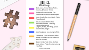 Gestalte Dein Bibel Markierungssystem