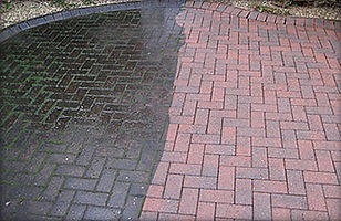 clean block paving, exterior cleaning, drivewa cleaning