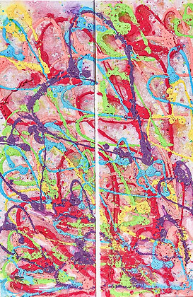 "Love Song - 12"" x 36"" (x2)"