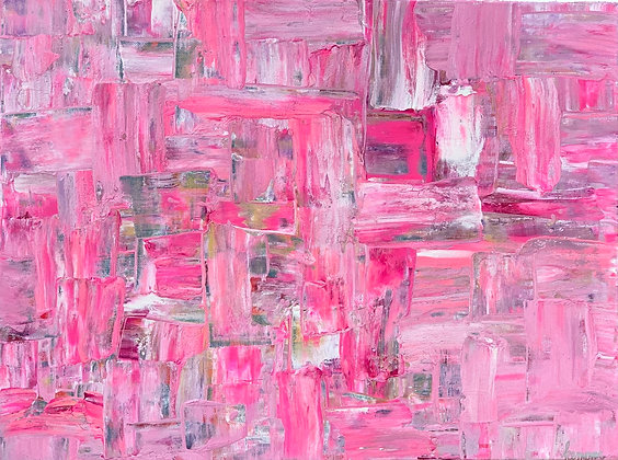 "Pretty in Pink - 20"" x 24"""
