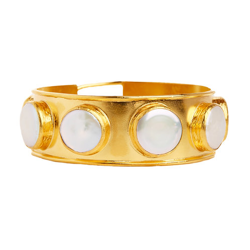 Coin Pearl bangle