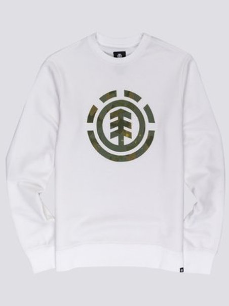 SUDADERA ELEMENT WHITE LOGO CAMO