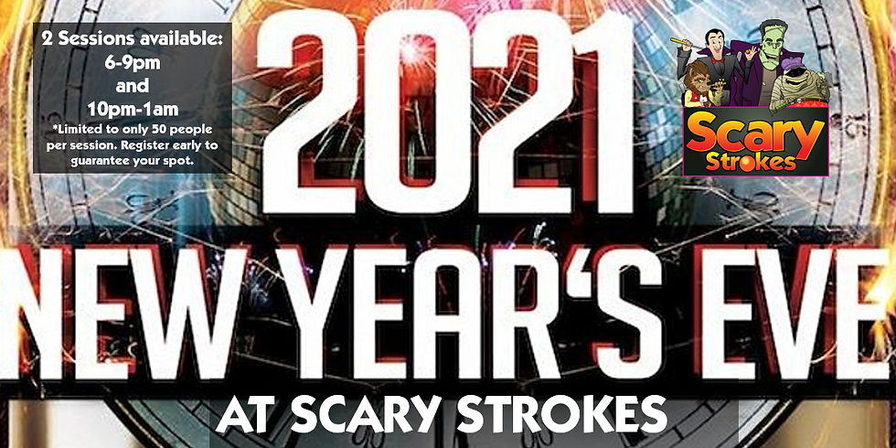 2021 New Years Eve Party @ Scary Strokes (Late Session)