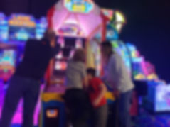 Arcade Game with Family