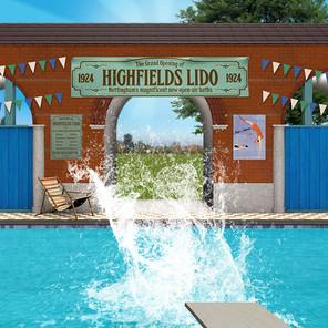 Highfields Lido Installation