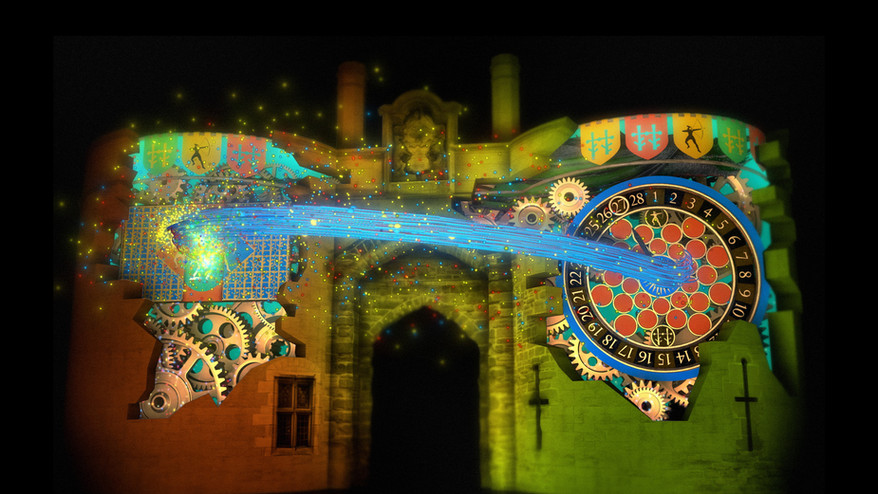 Full Building Video Mapping