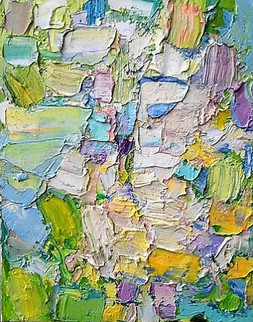 Little Spring Abstract Painting