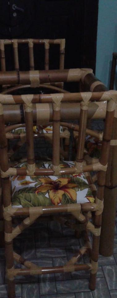 Trabalhos com Bambu Elvis