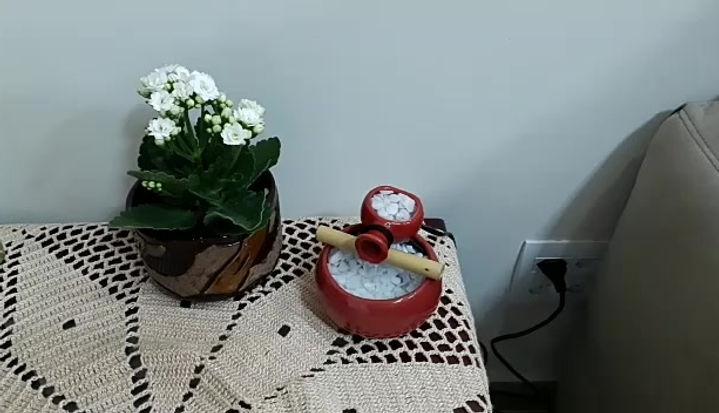 Cerâmica - exposição em ambiente
