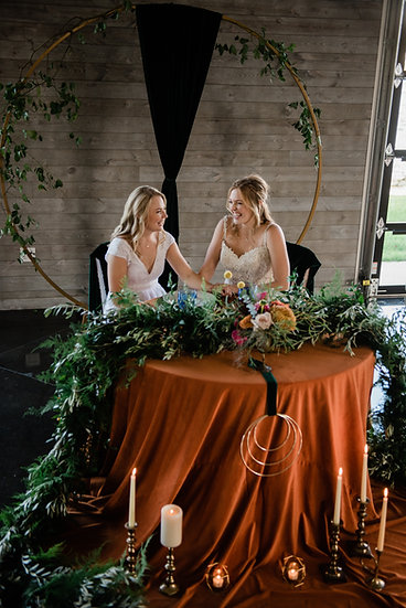 """Shaped Ceremony Arches or """"Moongates"""""""