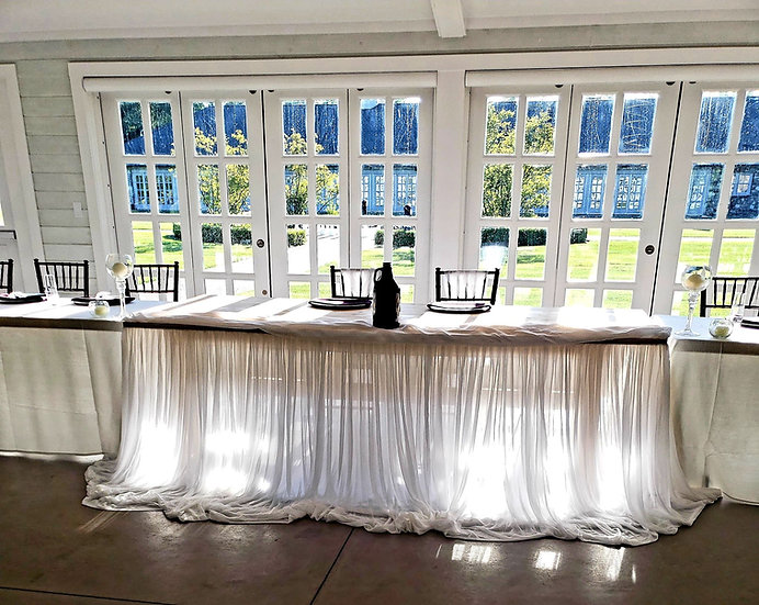 Specialty Linens (Tablecloths, Napkins and Chair Sashes)