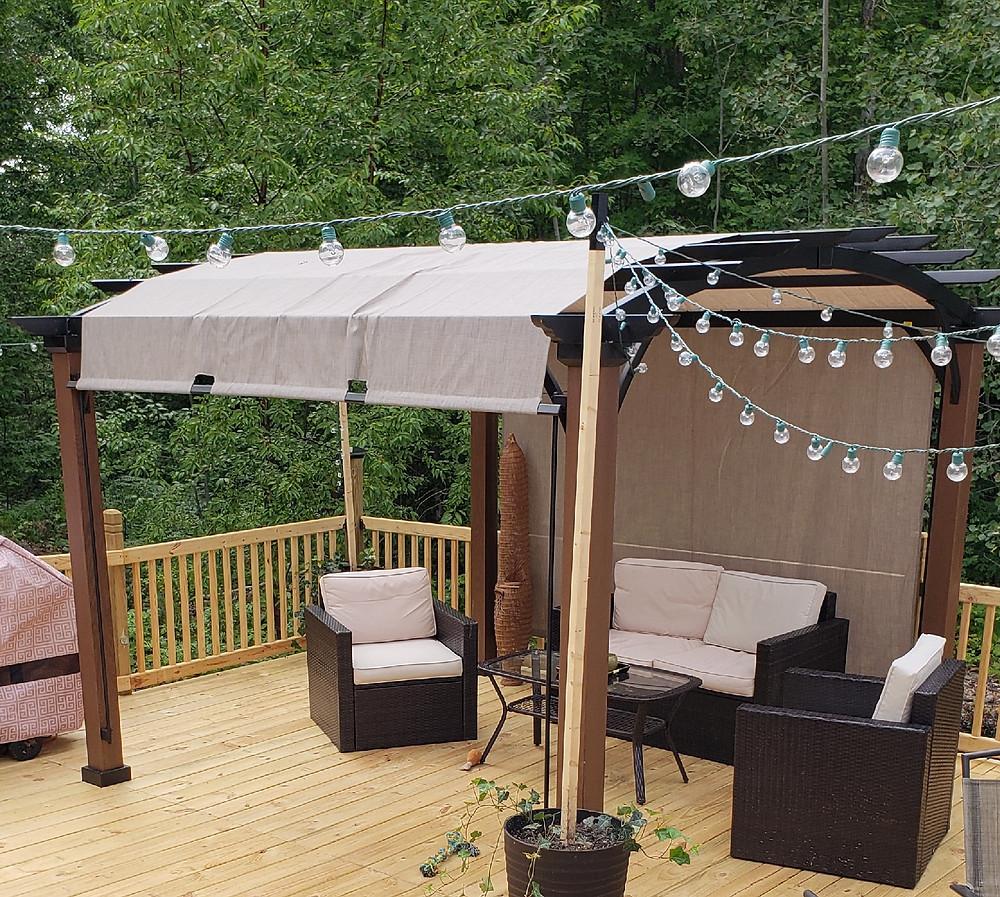 Wicker lounge rental