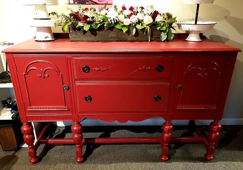 Distressed Vintage Buffets