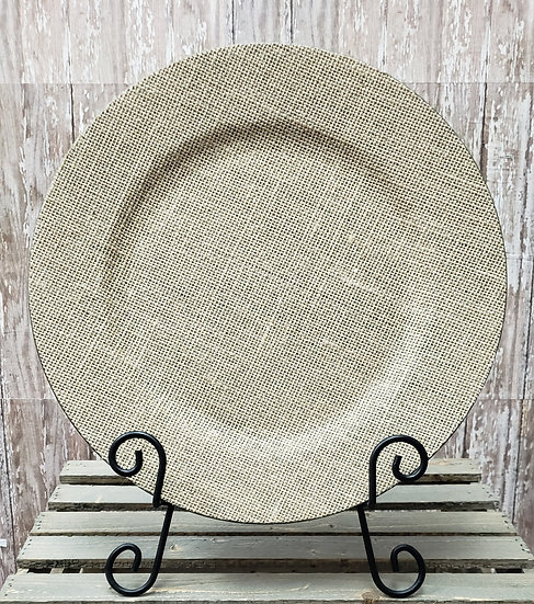 Rustic Charger Plates