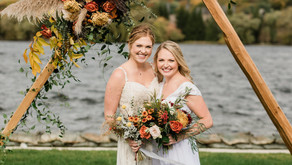 """""""A Tale of Two Weddings"""": A Styled Shoot at The Boathouse, East Jordan"""