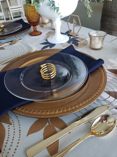 Tablecloths, Napkins and Chair Covers (Solid Colors)