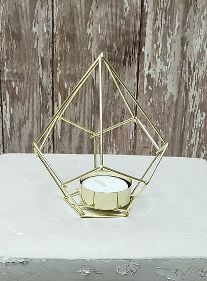 Geometric Votive Candle Holders