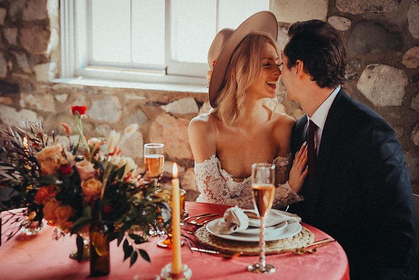 Sweetheart Table Creation