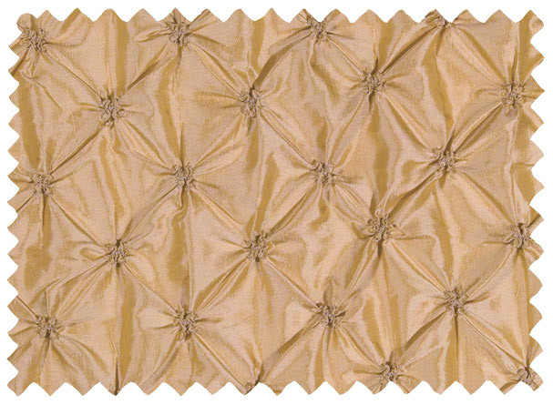 Very glamorous linen in champagne button fabric