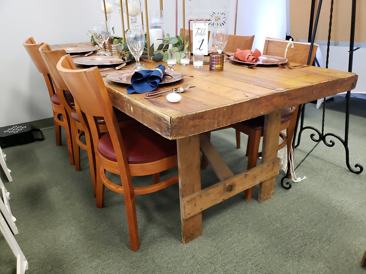 Antique Farm Table