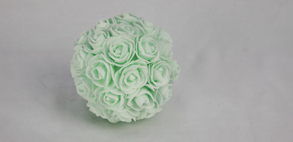 Mint Green Floral Balls