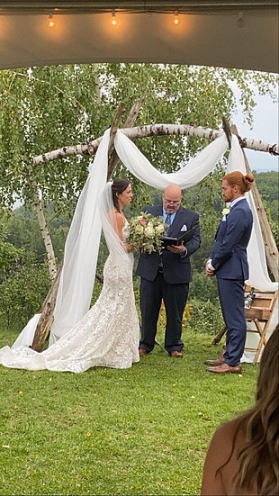 Wood Ceremony Arbors, Arches and Huppahs