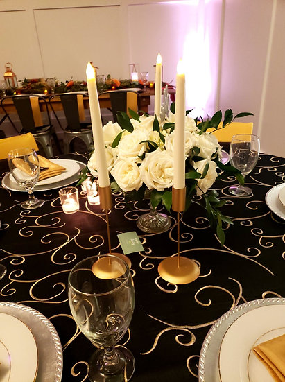 Metal Taper Candle Holders
