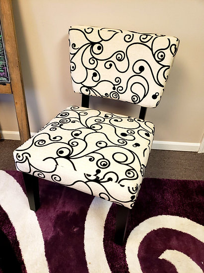 Modern Swirl Side Chair