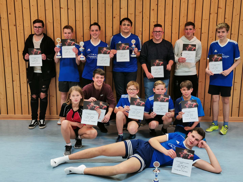 Darian Hage wird Vereinsmeister 2019 der Jugendlichen