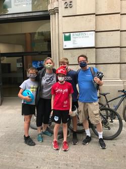 Ciclistes a CASP