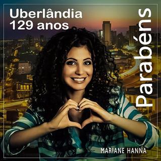 Uberlândia 129 anos!