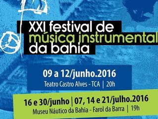 XXI Festival de Música Instrumental da Bahia