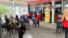 Majlis penyerahan Kad Perak Prihatin telah berlangsung di Sungai Manik