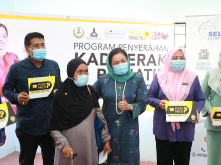 Majlis Penyerahan Kad Perak Prihatin Daerah Perak Tengah
