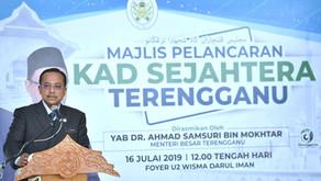 20,000 terima manfaat Kad Sejahtera Terengganu